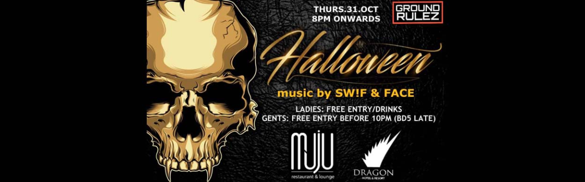 Halloween Party at Muju Restaurant and Lounge